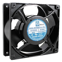 "OA109AP-11-1TB Orion Fans Cooling Fan 115v AC Fan Ball Bearing 120 x 38mm 4.7"" x 1.5"" 3000RPM Terminals"