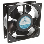 "Orion OA109AP-22-1TBR Reverse Airflow AC Fan, AIOS 230VAC - 120 x 38mm - 4.7"" x 1.5"" 3100RPM Terminals"