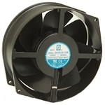 "Orion OA162-5E-230WB Fan AC 230VAC 172 x 55mm - 6.7"" x 2.2"" Wire Leads"
