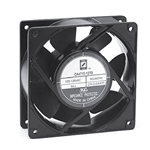 "Orion OA4715-12TB Cooling Fan 120v AC Fan Ball Bearing 120 x 38mm 4.7"" x 1.5"" 3000RPM Terminals"
