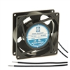 "Orion OA92AP-11-2WB Fan 115v AC Ball Bearing 92 x 25mm - 3.62"" x 1.0"" 2300RPM Wire Leads"