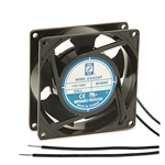 "Orion OA92AP-11-3WB Fan 115v AC Ball Bearing 92 x 25mm - 3.62"" x 1.0"" 1600RPM Wire Leads"