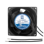 "Orion OA938AP-11-2WB Fan 115v AC Ball Bearing 92 x 38mm - 3.62"" x 1.5"" 2400RPM Wire Leads"