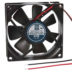 "Orion OD8025-12MB Cooling Fan 12VDC - 80 x 25mm - 3.15"" x 1.0"" Medium Speed"
