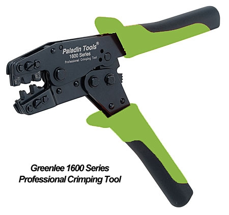 Greenlee PA1631 Professional-Quality Crimp Tool for Open Barrel ...