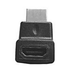 Philmore 45-7041 HDMI Adaptor, Right Angle, Male to Female, Upward Position