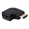 Philmore 45-7043 HDMI Adaptor, Male to Female Right Angle - Left Elbow