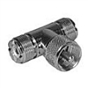 Philmore 552A UHF T Adaptor - 1 Male to 2 Females