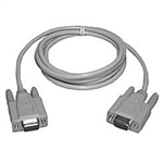 Philmore 70-176 Null Modem Cable, DB9 female to DB9 female 6ft.