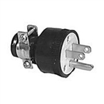 Philmore 8520 AC Plug 3-Wire Rubber