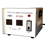 Philmore ST2000 Step Up & Down Transformer 2000 Watt