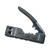 Platinum Tools 12516C Tele-Titan 10Gig Cat6a RJ45 Shielded Connector Xg2.0 Crimp Tool