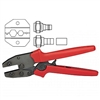 "Platinum Tools 16506 9"" Ergo Crimp Tool w/die for Coax BNC/TNC & 'F' Type Connectors"