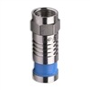 Platinum Tools 18002 F-Type SealSmart Coaxial Compression Connectors for RG6 Quad - 10/pkg