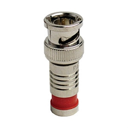 Platinum Tools 18042 BNC SealSmart Coaxial Compression Connectors for RG59 - 6/pkg