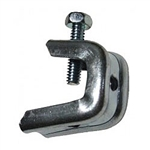 "Platinum Tools JH965 Pressed Beam Clamp for 1/2"" Flanges, 1/4-20 Threaded Rod"