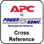 Powersonic APC to Power-sonic Cross Reference Page