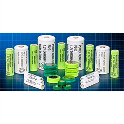 Powersonic PS-AAA Nicad Battery 1.2v 300mah Rechargeable AAA Standard Cell