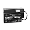 Powersonic PS-1208WL SLA Battery 12v .8ah Rechargeable Sealed Lead Acid