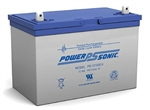 Powersonic PS-121000 SLA Battery 12v 100ah Rechargeable Sealed Lead Acid