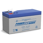 Powersonic PS-1212F1 SLA Battery 12v 1.4ah Rechargeable Sealed Lead Acid