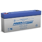 Powersonic PS-1229F1 SLA Battery 12v 2.9ah Rechargeable Sealed Lead Acid