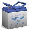 Powersonic PS-12350NB SLA Battery 12v 35ah Rechargeable Sealed Lead Acid with Nut & Bolt terminals.