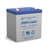 Powersonic PS-1250F2  SLA Battery 12v 5ah Rechargeable Sealed Lead Acid