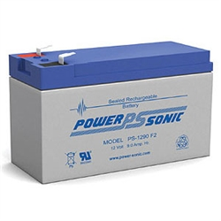 Powersonic PS-1290F2 SLA Battery 12v 9ah Rechargeable Sealed Lead Acid