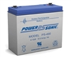 Powersonic PS-490F2 SLA Battery 4v 9ah Rechargeable Sealed Lead Acid