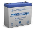 PS-490F2 Powersonic Battery