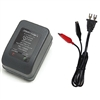Powersonic PSC-12800A-C Battery Charger for 4-8ah SLA Batteries 12v 800ma C-Series Switch-Mode Automatic