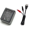 Powersonic PSC-6300A-C Battery Charger for 1-3ah SLA Batteries 6V 300ma C-Series Switch-Mode Automatic