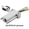 Pan Pacific AD-25FT6-G1<br>RJ12 6pin to 25pin female D-Sub Adapter Kit