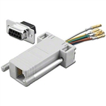 Pan Pacific AD-9FT8-G1<br>RJ45 to 9pin female D-Sub Adapter Kit