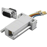 Pan Pacific AD-9MT8-G1<br>RJ45 to 9pin male D-Sub Adapter Kit