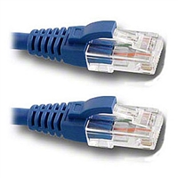 Pan Pacific DC-568P-10BLMB CAT6 Patch Cable 10ft. Blue with Snagless Molded Boot