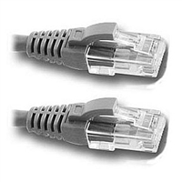 CAT6 Patch Cable 3ft. Gray</br>w/Snagless Molded Boot