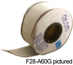 "Pan Pacific F28-A25G<br>25 Conductor Flat Ribbon Cable - 100ft. Roll 0.05""(1.27mm)"