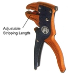 Pan Pacific PHT-PYT-4<br>Self-adjusting cutter-stripper for single or multi-conductor modular flat cord and round cable