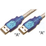 S-USBAA0-03-P</br>USB 2.0 CABLE A-A 3ft. 20GA