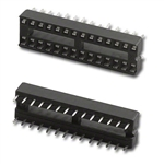 SCS-28 28 Pin IC Sockets Pan Pacific