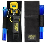 Ripoffs BL-47FL 3 Pocket Combo Holster for Leatherman Juice, Strippers w/Flashlight - Belt-Loop Version