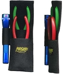 "Ripoffs BL-4FL Sheath for Pliers (8.5"" x  3"") w/ Flashlight Loop - Belt-Loop Version"