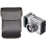 "Ripoffs CO-128 Holster for Digital Cameras fitting 5"" x 3.33"" x 2"" - Clip-On Version"