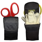 Ripoffs CO-160 Holster for EMT Essentials - Gloves,Wipes,Mouthpiece and Shears - Clip-On Version