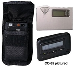 Ripoffs CO-35 Holster for Pagers and Beepers - Motorola Bravo, Express, Gold Flex + more - Clip-On Version