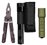 Ripoffs BL-73 Holster for Laser-Type Flashlights and Multi/Super-Tool Combos - Belt-Loop Version