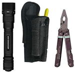 Ripoffs BL-86 Holster for Large Multi-Tool & Stinger XT Laser Flashlight - Belt-Loop Version