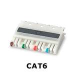 Signamax 110CB6-4PR Connecting Blocks CAT6 4-Pair 110 IDC